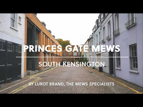 London Mews Tour || Princes Gate Mews || South Kensington || SW7 || Lurot Brand