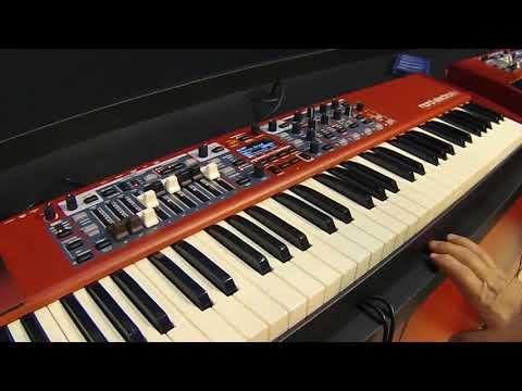 NAMM 2018   Nord Electro 6D with Chris Martirano
