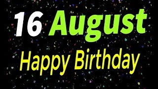 16 August Special New Birthday Status Video, happy birthday wishes, birthday msg quotes जन्मदिन