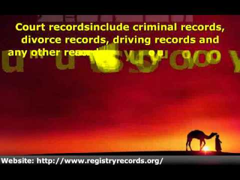 Court Records Provide You With a Wealth of Information About