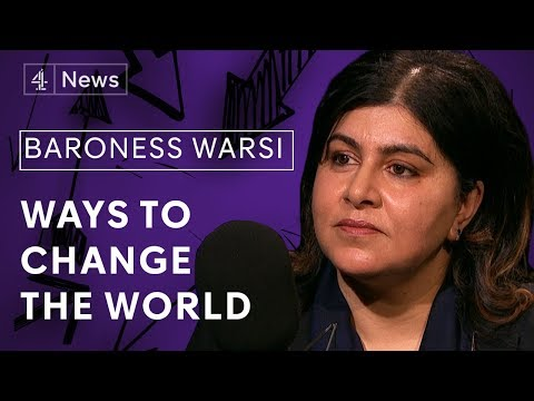 Sayeeda Warsi on Islamophobia, the changing face of Conservative politics and human rights policy