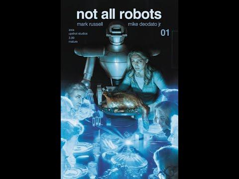 Not All Robots #1 Artists Writers & Artisans Upshot #QuickFlip Comic Review #CodesGiveaway #shorts