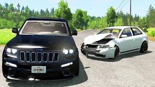 SUV & Pickup Crashes Compilation 5  BeamNG.Drive