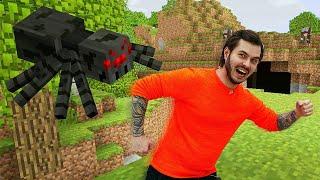 Майнкрафт видео шоу - Нуб в пещере с пауками! - Летсплей Minecraft.