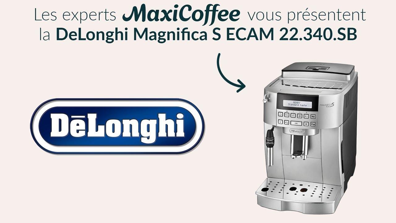 2e6eb884c Delonghi Magnifica S ECAM 22.340.SB   Machine à café automatique   Le Test  MaxiCoffee