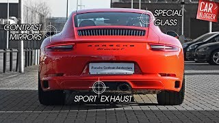 INSIDE the NEW Porsche 911 Carrera T 2018 | Interior Exterior DETAILS w/ REVS