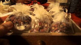 Ancient Egyptian Inspired Handcrafted Rose Milk Bath Sachets Thumbnail