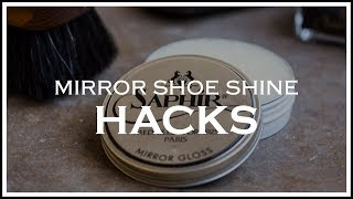 5 Mirror Shine Hacks for Dress Shoes | Kirby Allison