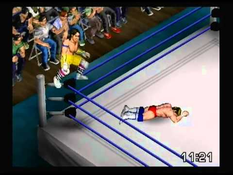 6/7/13 Marty Jannetty vs Mike Von Erich All-Time Fire Pro Wrestling Singles Match