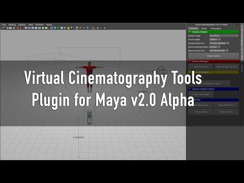 Virtual Cinematography Tools Plugin for Maya v2.0 Alpha