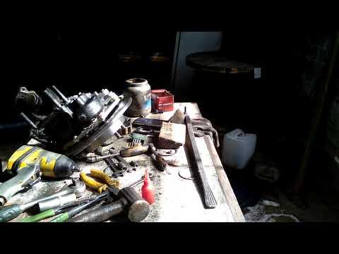 Установка дисковых тормозов на луаз 3