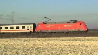 Züge bei Brühl Walberberg, SBB Cargo Re421, 2x 189, 145, 152, 3x 101, 2x 146, 3x 425, 8x 460