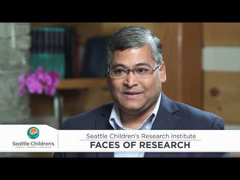 Seattle Children's Research Institute's Faces of Research – Meet Dr. Surojit Sarkar