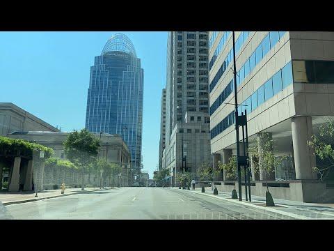 Driving Around Downtown Cincinnati