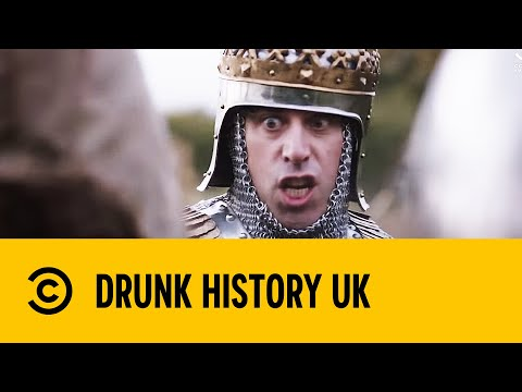 Henry V's Famous Agincourt Speech  Stephen Mangan in Drunk History  Comedy Central