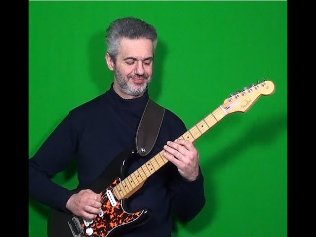 JOHN SCOFIELD's solo on WALK WITH ME played by MARCELLO ZAPPATORE