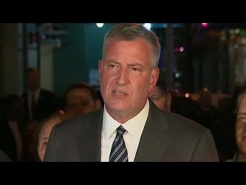 NYC mayor: No evidence of a terror connection