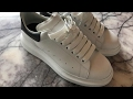 Alexander McQueen oversized sneaker unboxing - first look and sizing