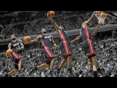 LeBron James: Top 10 Dunks as a Miami Heat