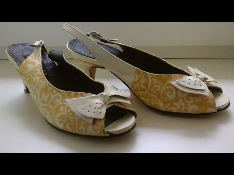 How To Decoupage Old Shoes To Look Better Than New – DIY Style Tutorial – Guidecentral
