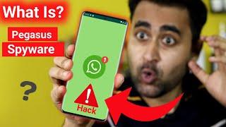 WhatsApp Hacking Attack? | What Is Pegasus Spyware In Hindi | Pegasus Spyware Kya hai? | EFA