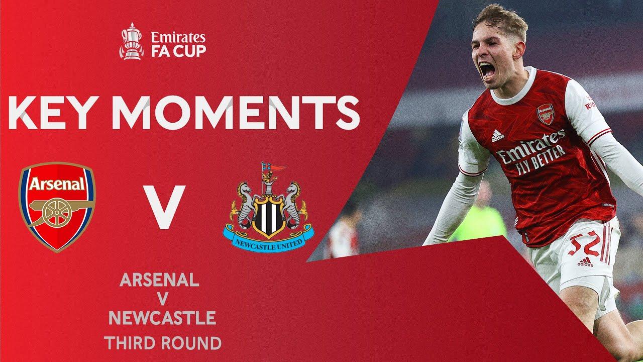 Арсенал  2-0  Ньюкасл видео