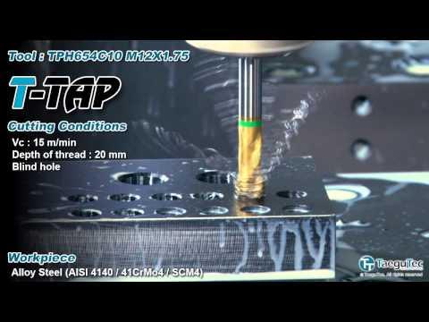 [Machining]_TaeguTec_T-TAP Blind Hole