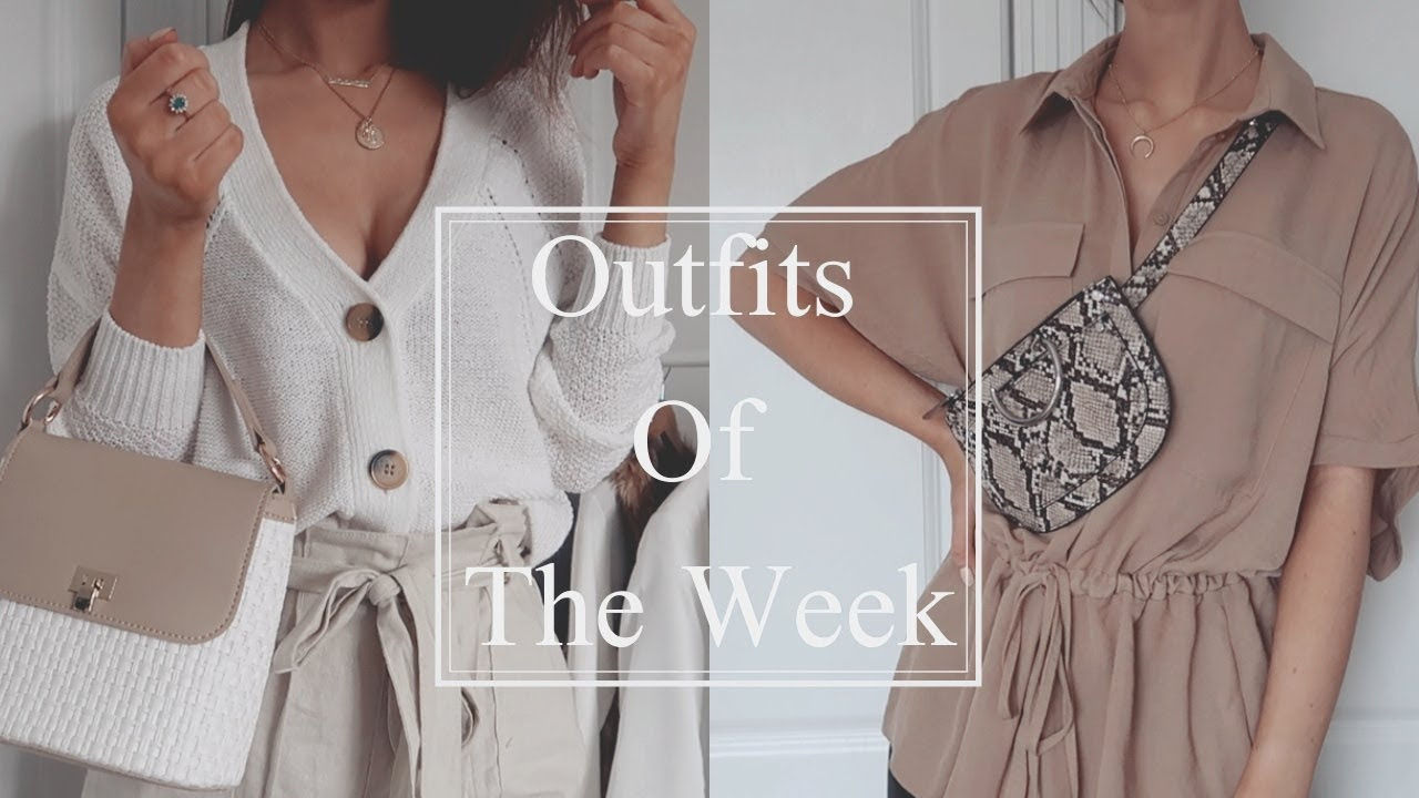 Spring Outfits Of The Week | 2019