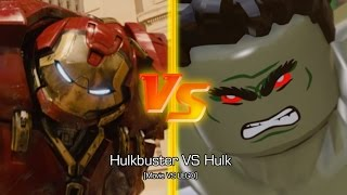 [PS4] Hulkbuster VS Hulk [Movie VS LEGO]