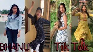 TikTok Star Bhanu latest tik tok Dubsmash video@Bhanu1006 popular tik tok dance video