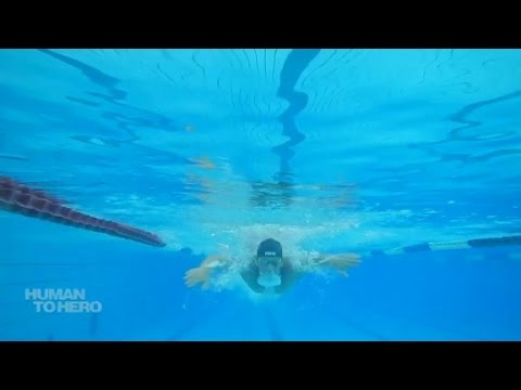 South African swimmer who shocked the world