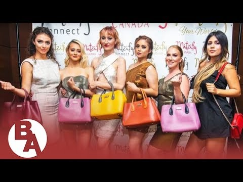 Filipino Canadian entrepreneur unveils innovative bag for women on the go