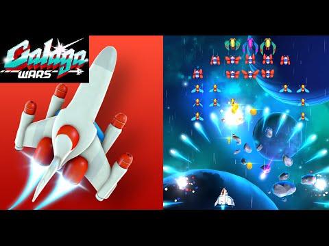 GALAGA WARS Free Android / IOS Retro Arcade Shooter Remake Namco Bandai Game