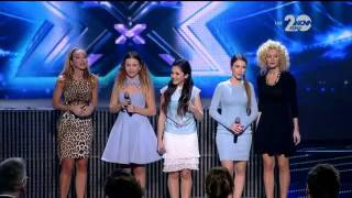 Sweet 16 - X Factor Live (02.12.2014)