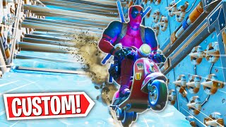 The OFFICIAL DEADPOOL Deathrun! *CUSTOM SCOOTIN LEVEL* (Fortnite Creative Mode)