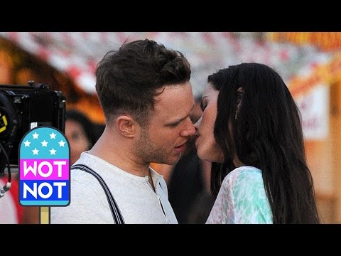 Olly Murs Tries to Kiss Swedish Miss World Contestant Filming His Music Video