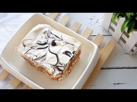 ICE CREAM CAKE GRAHAM FLOAT NO BAKE ICE BOX CAKE