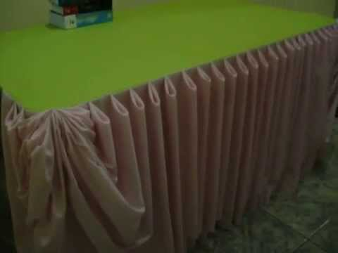 Awesome Table Skirting