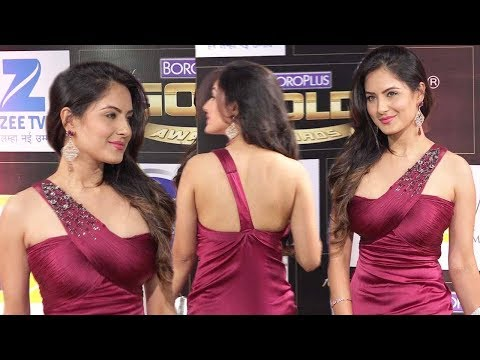 Pooja bose in hot red Short Body Tight Dress ...