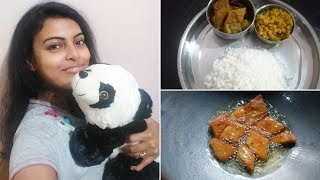 My Teddy Bear Day Gift || Making Pure Veg Bengali Lunch || Chit Chat Vlog