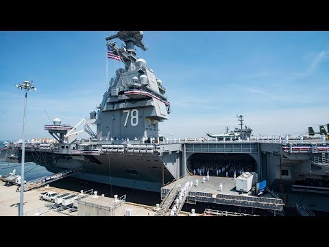 USS Gerald R. Ford Commissioning Ceremony