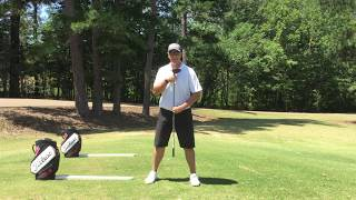 """Reactionary Golf - Building your """"A"""" Back swing position for Maximum Club Head Speed"""
