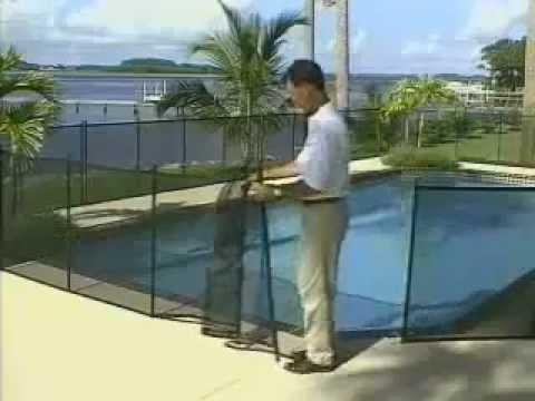 Cerramiento para piscinas en malla youtube for Piscinas de plastico para ninos