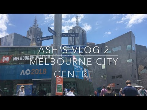 (Eng version+sub) VLOG2 | Melbourne 2018 | A day in Melbourne City  (Part 2)