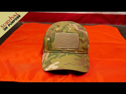Survival Kit In A Hat – Wazoo Cache Cap