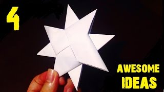 4 Awesome Ideas using Paper [DIY]