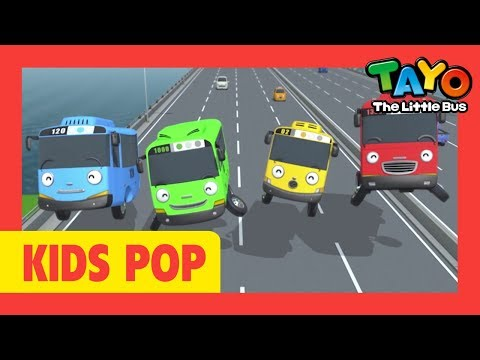 Tayo Music Video L Tayo Ending Theme Song L Songs For Kids L Tayo The Little Bus