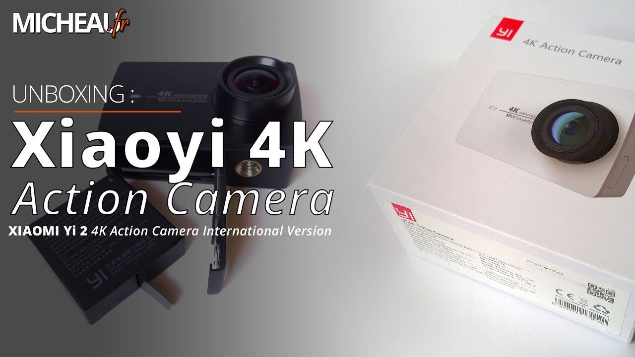 Xiaoyi Yi 4k Action Camera Unboxing Fr Xiaomi Ii International Version