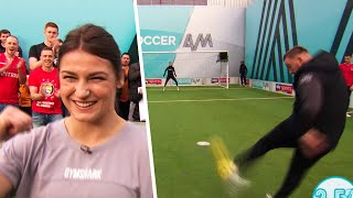 Jamie O'Hara & Katie Taylor denied by OUTSTANDING saves 👐💥| Soccer AM Pro AM