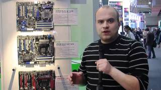 Intel Z68 hos Asrock - Cebit 2011